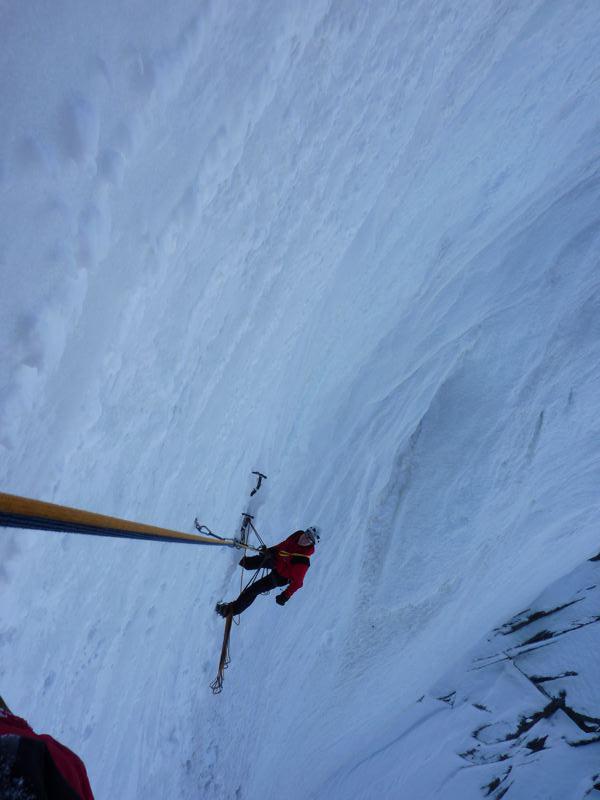 Grossglockner: Naso di ghiacchio - la via piu' difficile del Grossglockner - WI 6, Guide Alpine Gruppo Kals am Großglockner