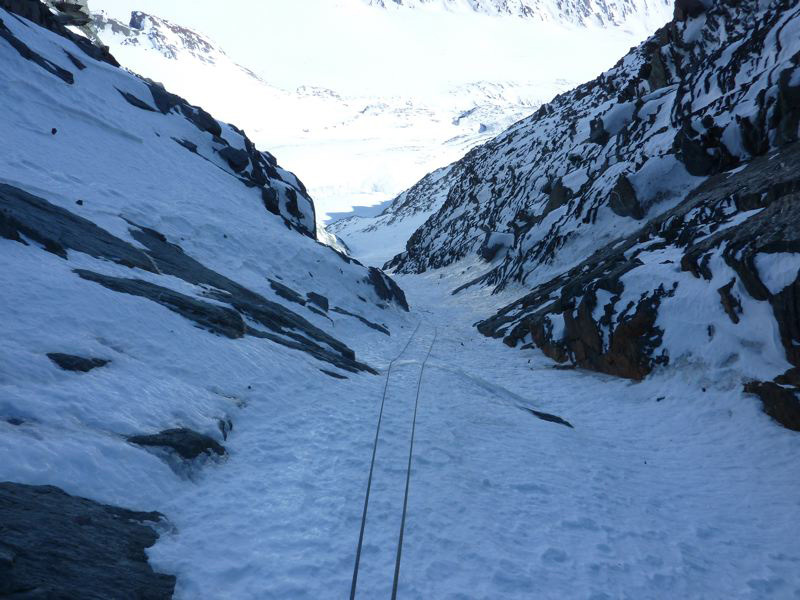 Grossglockner: Pallavicini, at 2/3 height, Guide Alpine Gruppo Kals am Großglockner