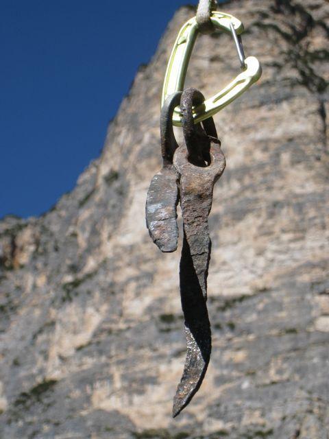 Gratta e Vinci, nuova via in Dolomiti liberata da Christoph Hainz e Simon Kehrer il 14/05/2012,