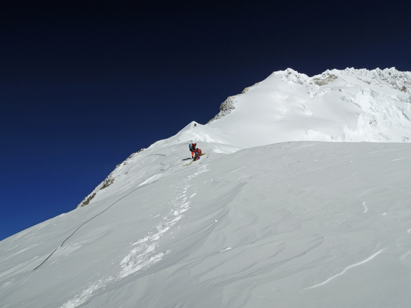 The Everest Balcony, Ueli Steck