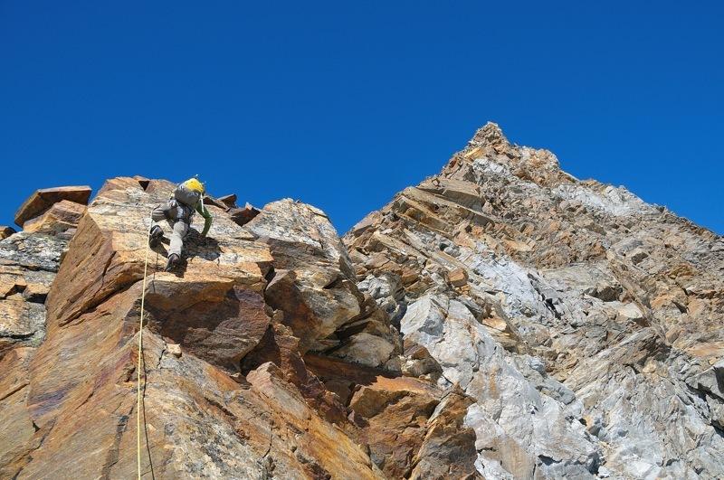 Cresta del Soldato alla P.ta Giordani e Piramide Vincent: un divertente risalto sulla Cresta del Soldato, Marco Zaninetti
