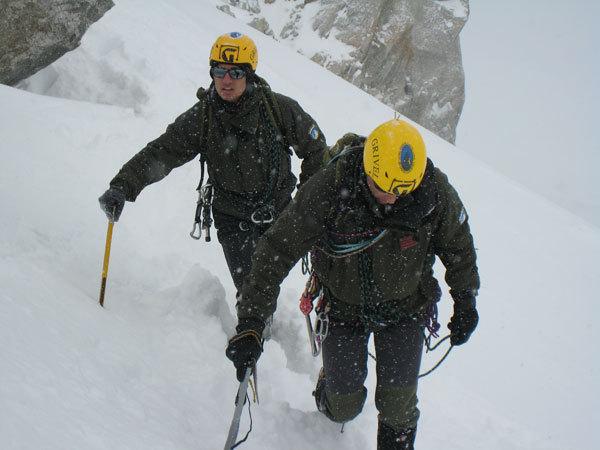 Esercitazioni di preparazione alla spedizione, arch. Scuola Militare Alpina