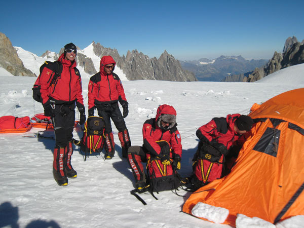 Expedition training, arch. Scuola Militare Alpina