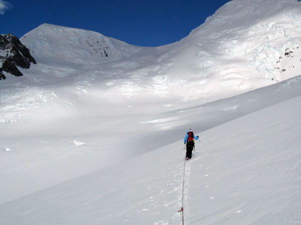 Giulia Monego durante la salita del Cerro Mariano Moreno, Marcello Cominetti