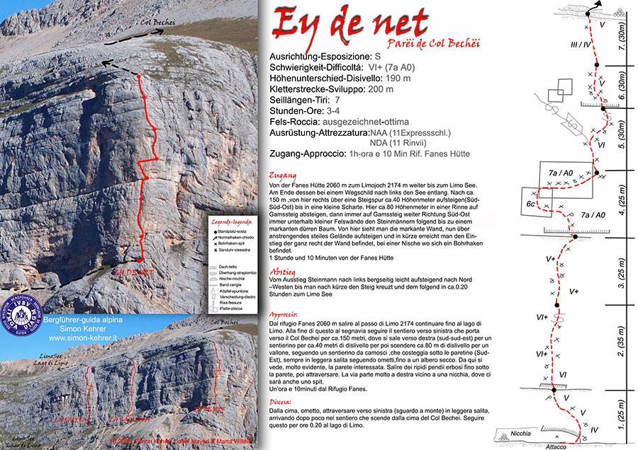 Ey de Net (200m, VI+ (7a A0), Simon Kehrer