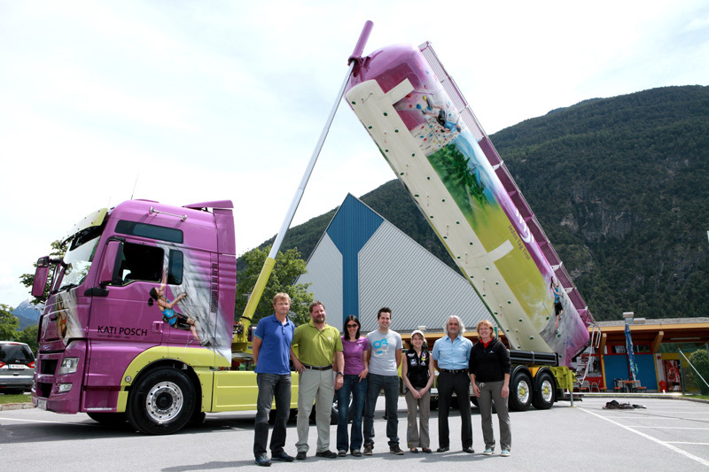 Arrampicare a Imst in Austria...,