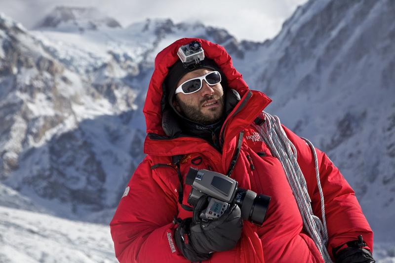 Matteo Zanga ai piedi del Nanga Parbat, Matteo Zanga