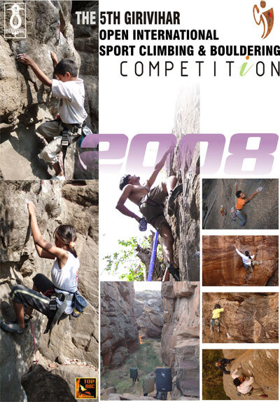 5th Girivihar Open international Sports Climbing and Bouldering Competition - Bombay 25-27/01/2008, arch. Girivihar