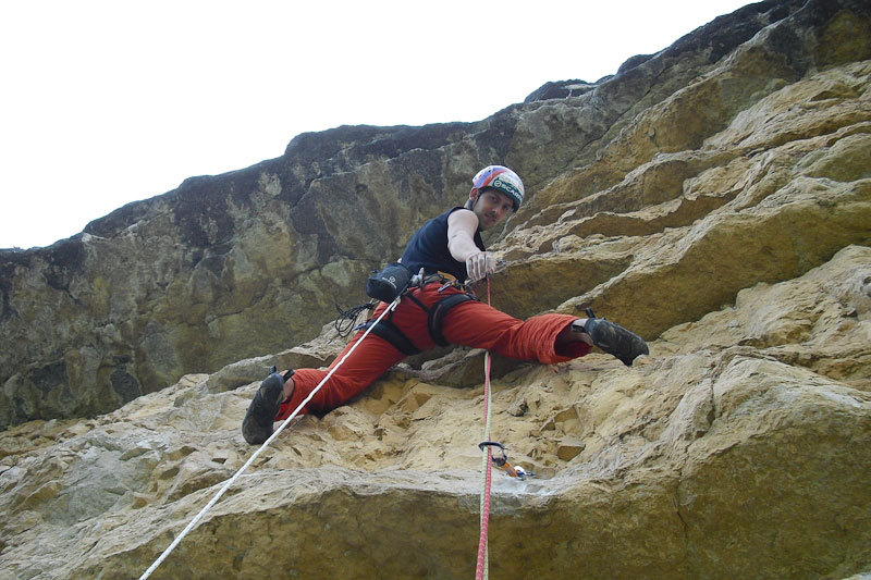 Alessio Roverato on pitch 5 of Cara in Val Gadena, Angela Carraro