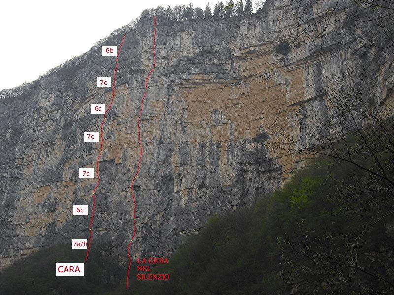 Cara route topo in Val Gadena, Alessio Roverato