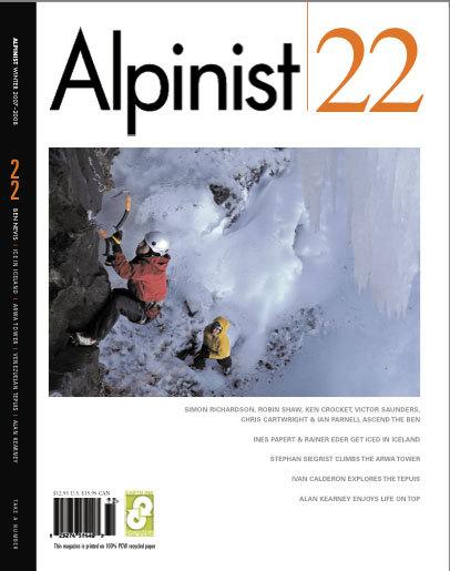 Alpinist Magazine, Alpinist