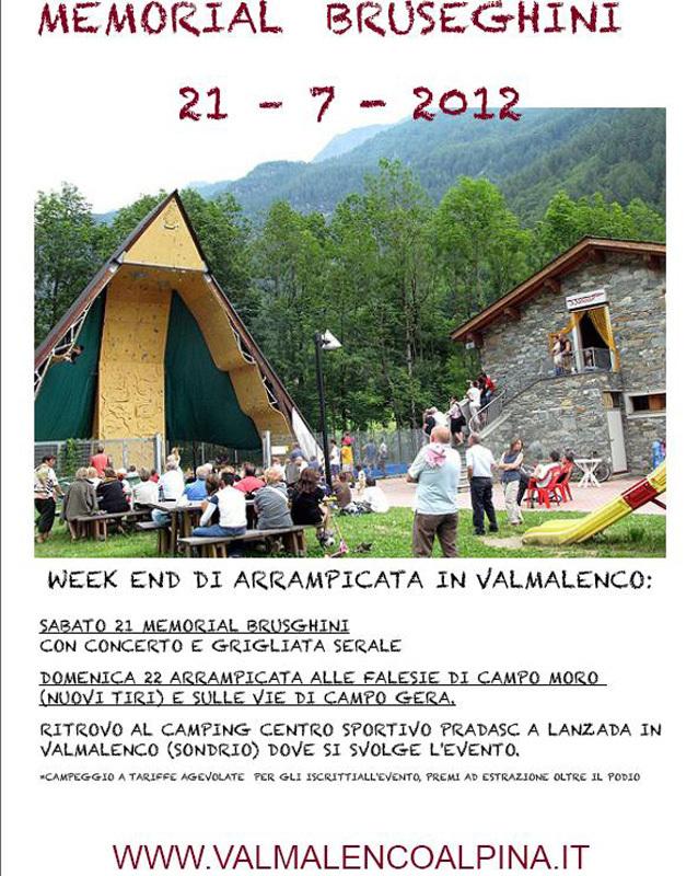 Sabato 21 luglio 2012 a Lanzada in Valmalenco va in scena il 12° Memorial Bruseghini, Nicola Noè