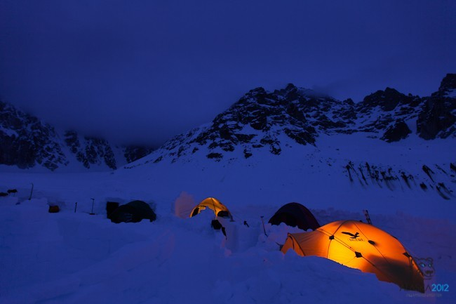 New routes in Alaska's Revelation Mountains by the Slovenian Freeapproved Team from 10/04 - 02/05/2012, Anže Čokl / Freeapproved Team