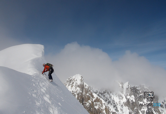 Nuove vie nelle Revelation Mountains in Alaska aperte dal team sloveno Freeapproved dal 10/04 - 02/05/2012., Anže Čokl / Freeapproved Team