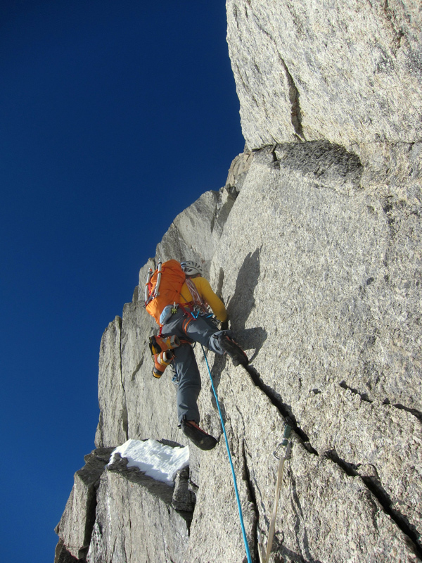 Climbing low on the wall, Luka Krajnc