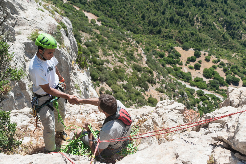 Rock climbing at Zaghouan, Tunisia, Youri Picart