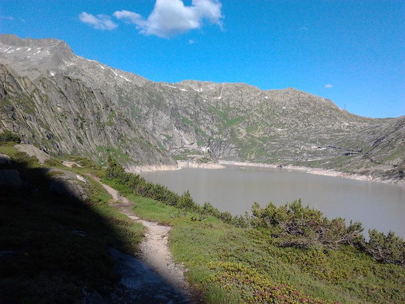 Lungo lago e Grimsel Hospiz, archivio Elio Bonfanti