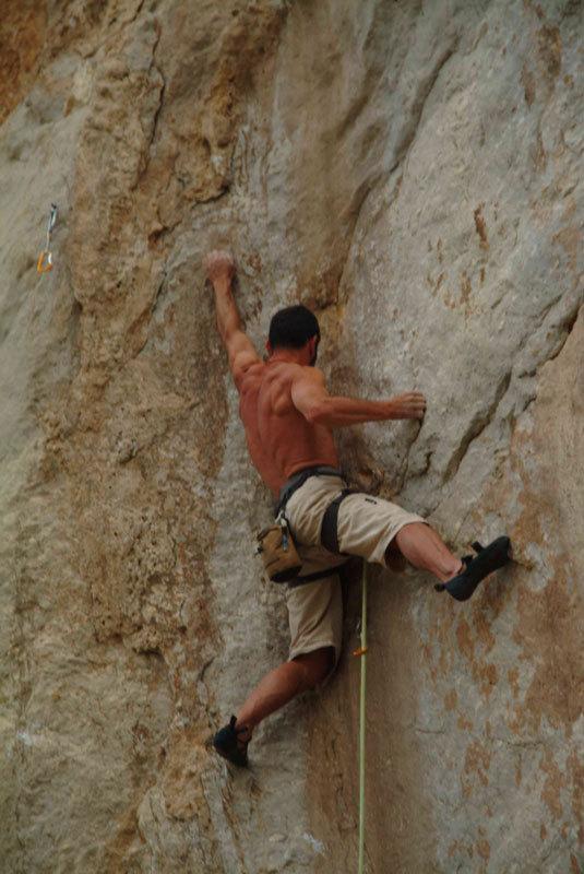 Faletti, arrampicata a San Vito Lo Capo, Emilo Lucifora