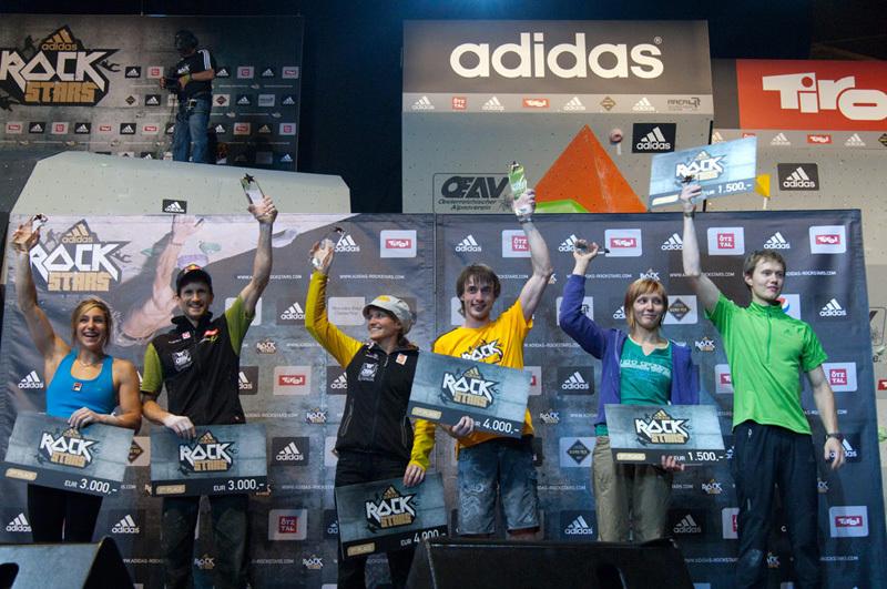 I vincitori del adidas Rockstars 2011, adidas