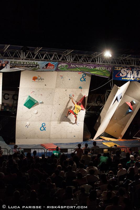 L'Aquila Climbing Festival 2012, Luca Parisse - risk4sport.com