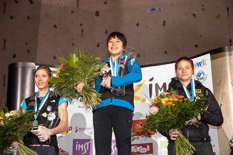 Imst, Austria: Mina Markovic, Momoka Oda, Johanna Ernst, Heiko Wilhelm
