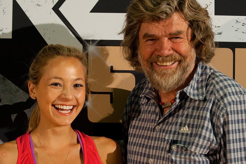 Sasah DiGiulian & Reinhold Messner, Christian Pfanzelt