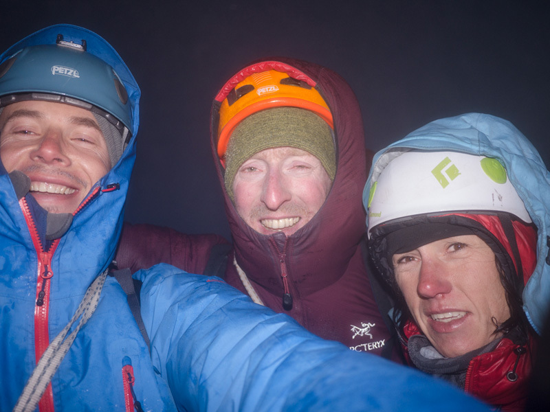 Sensory Overload (1200m, 5.11+, A1) up the NW Face of the South Tower of Mount Asgard, Baffin Island first ascended by Ines Papert, Jon Walsh and Joshua Lavigne from 24 - 26/07/2012, Joshua Lavigne