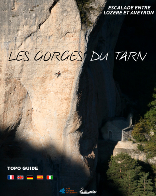 The new Gorges du Tarn climbing guidebook (2012, French, Italian, English, German),