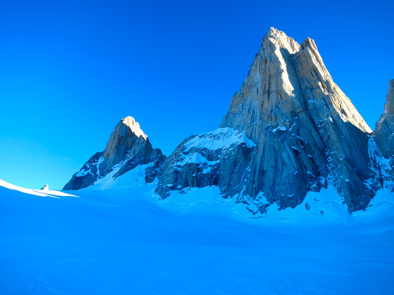 Fitz Roy Patagoniam winter 2012 attempt by Michael Lerjen-Demjen and Jorge Ackermann, Michael Lerjen-Demjen