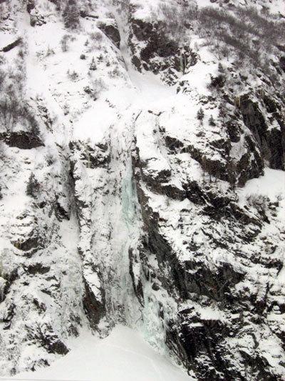 Cascade de Brouchelet (Svizzera Vallese), arch. Elio Bonfanti