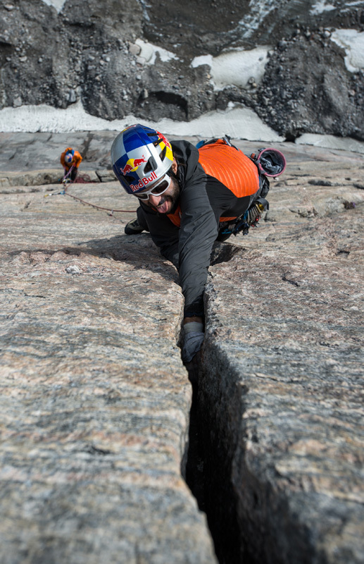 Isola di Baffin 2012: Eneko Pou su The Door, Ricky Felderer