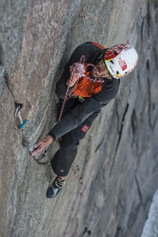 Isola di Baffin 2012: Hansjörg Auer su The Door, Ricky Felderer