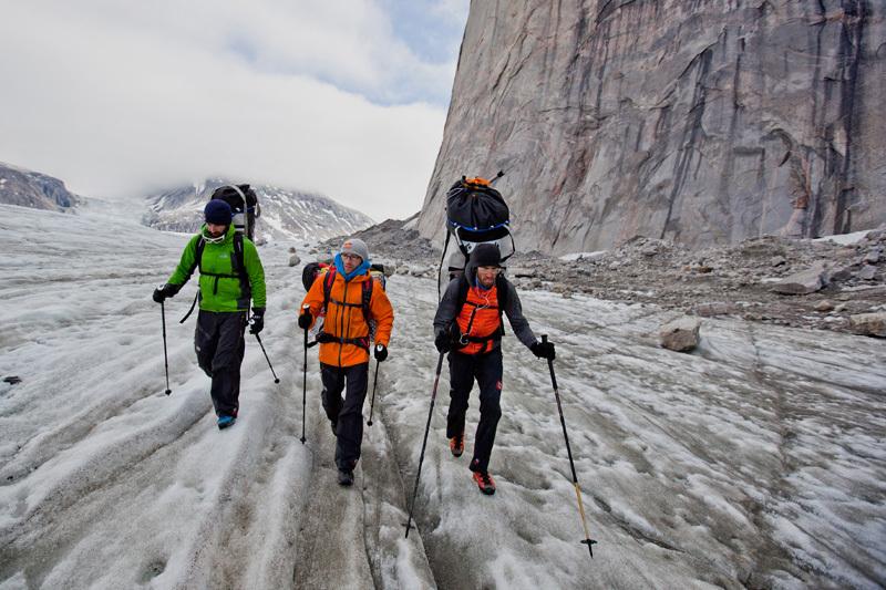 Isola di Baffin 2012: Eneko Pou, Iker Pou & Hansjörg Auer, Matteo Mocellin