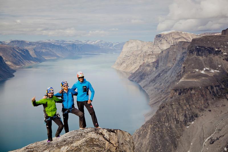 Baffin Island 2012: Eneko Pou, Iker Pou & Hansjörg Auer, Matteo Mocellin