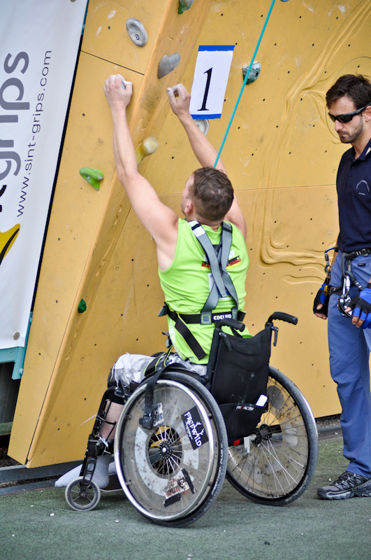 Paraclimbing Cup 2012, Planetmountain