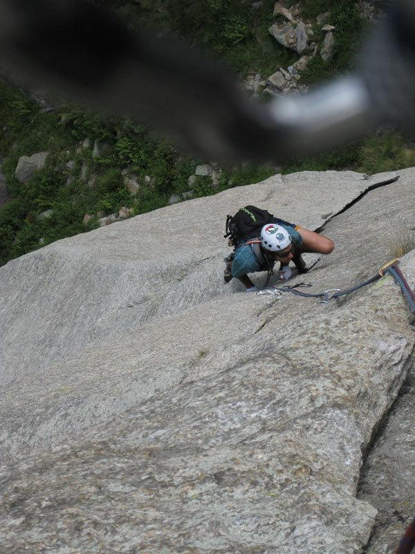 Alvise climbing Itaca nel sole, Michele Zaupa