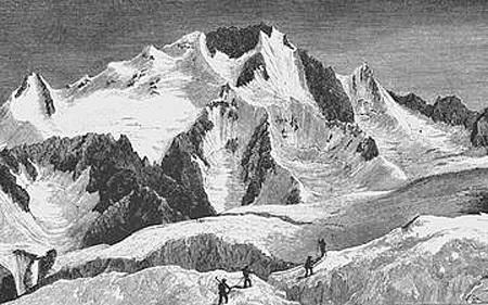 Lla storica salita effettuata dagli inglesi nel 1862 del Monte Disgrazia., Mario Vannuccini