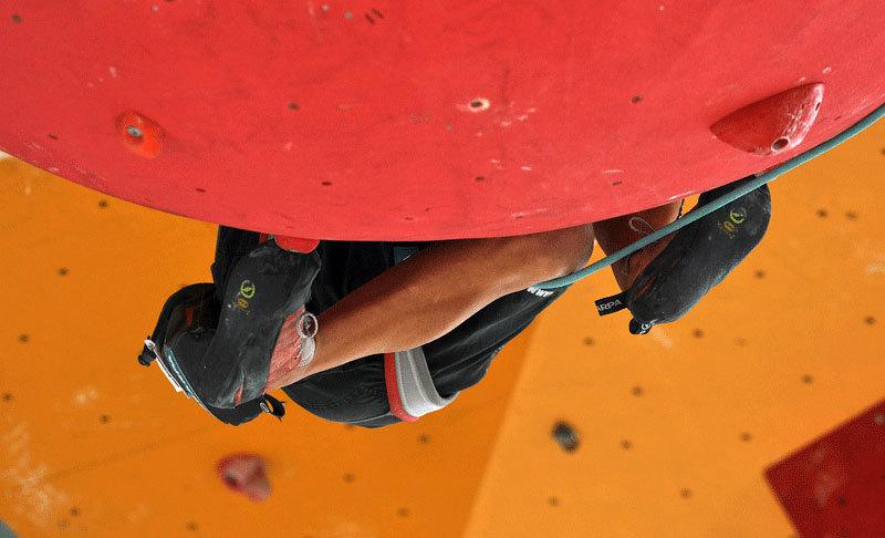 Rock Master Open Internazionale prova Lead, Giulio Malfer
