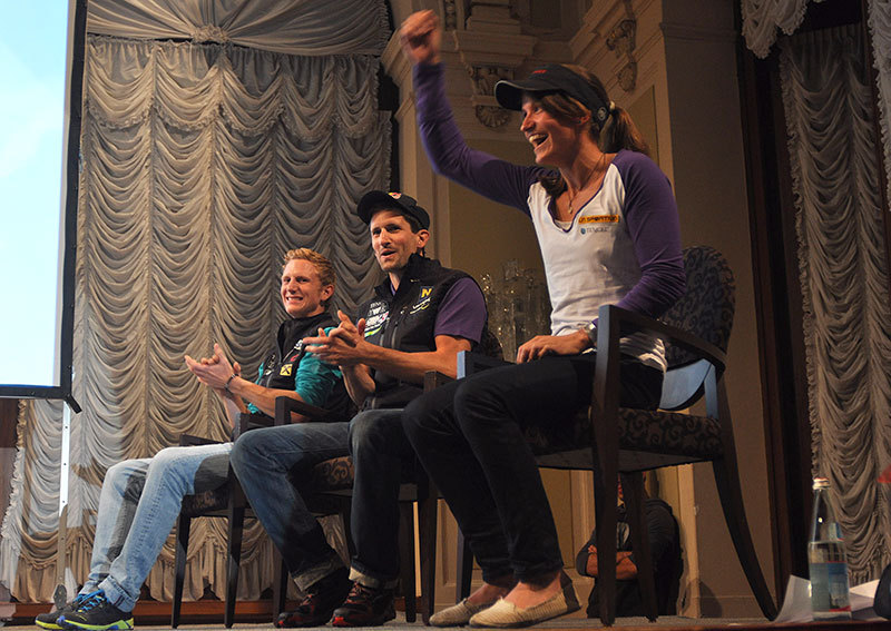 Arco Rock Legends 2012: Anna Stöhr, Kilian Fischhuber, Jacob Schubert, Giulio Malfer