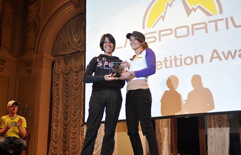 Arco Rock Legends 2012:  Giulia Delladio (La Sportiva) & Anna Stöhr, Giulio Malfer