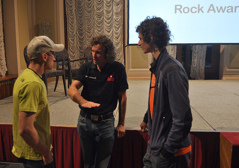 Arco Rock Legends 2012: Iker Pou, Stefan Glowacz, Adam Ondra, Giulio Malfer
