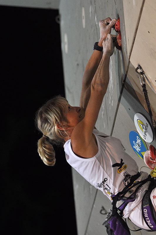 Rock Master 2012 - Lead, Angela Eiter, Giulio Malfer