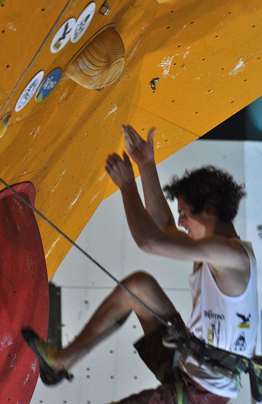 Rock Master 2012 - Lead, Adam Ondra, Giulio Malfer