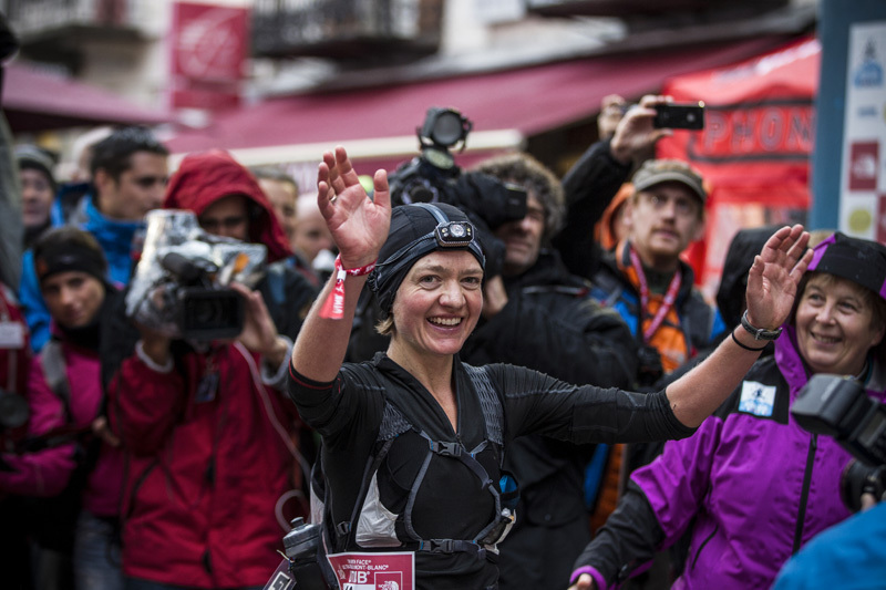 The North Face Ultra Trail du Mont Blanc: Lizzy Hawker, The North Face®/ Damiano Levati