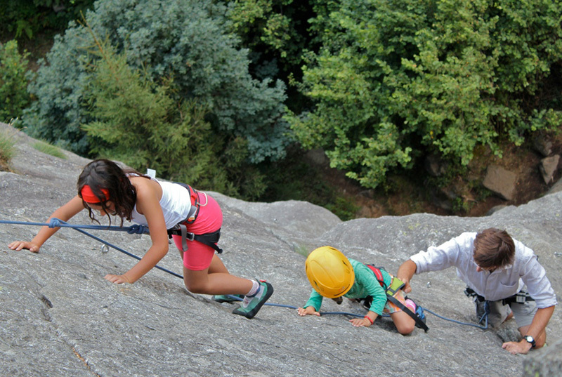 The Valmasino Mountain Guides celebration on 15/08/2012., Guide Alpine Val di Mello