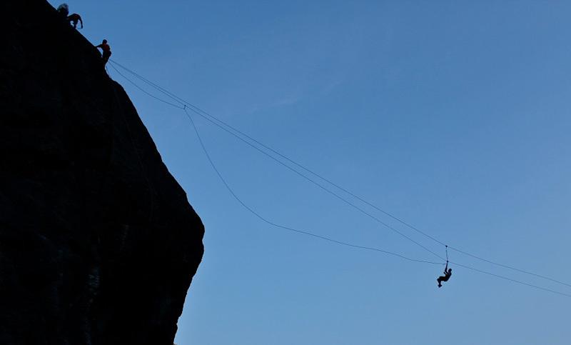 Il 15/08/2012 si è tenuta attorno al Sasso di Remenno la Festa delle Guide Valmasino., Guide Alpine Val di Mello