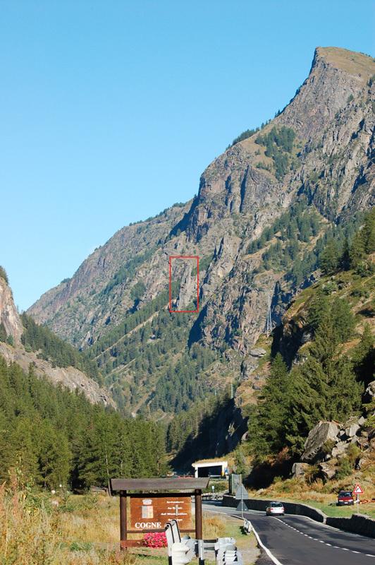 Fuga dal Guado (6c, 90m, Marco Dellanoce and Simon Grosjean, 08/2012) Torre di Vincenzo, Valle di Cogne., Simon Grosjean