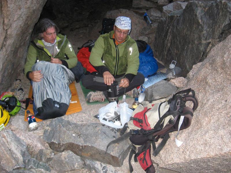 Il Cave Bivy, Calloni / Dell'Agnola / Sanguineti
