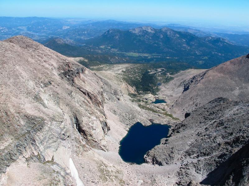Panorama verso il Chasm Lake, Calloni / Dell'Agnola / Sanguineti