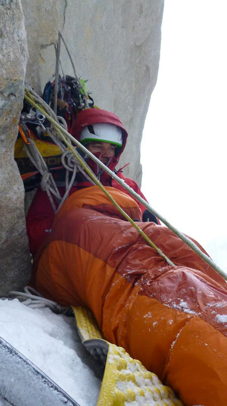 New route attempt by Dodo Kopold and Michal Sabovcik. The